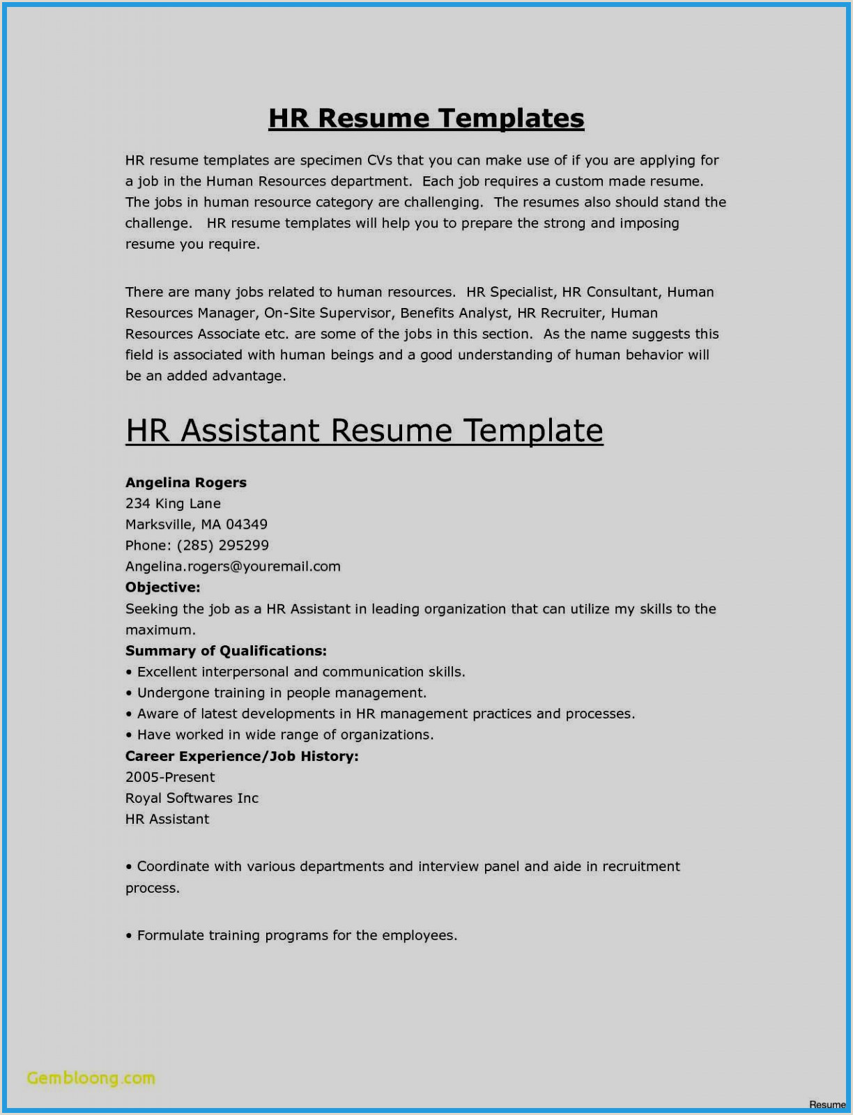 Cv Template Free Download Doc Best Resume Template Doc