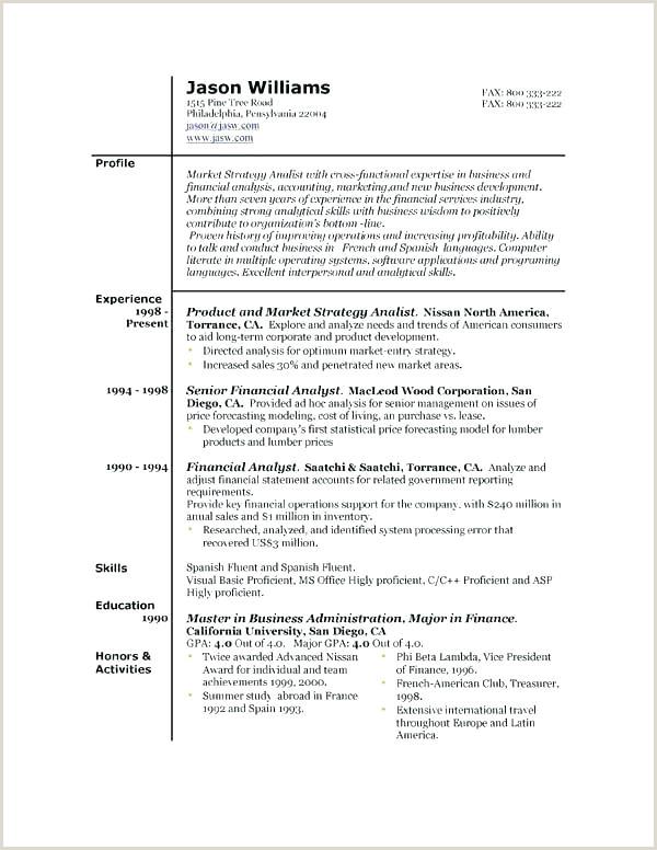 Standard Cv format for Bangladesh Doc Template Standard Resume Latest Free Resumes Samples Unique