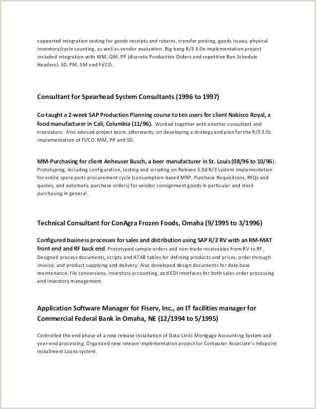 Standard Cv format for Bank 44 Gratuit Cv format Paysage Xenakisworld