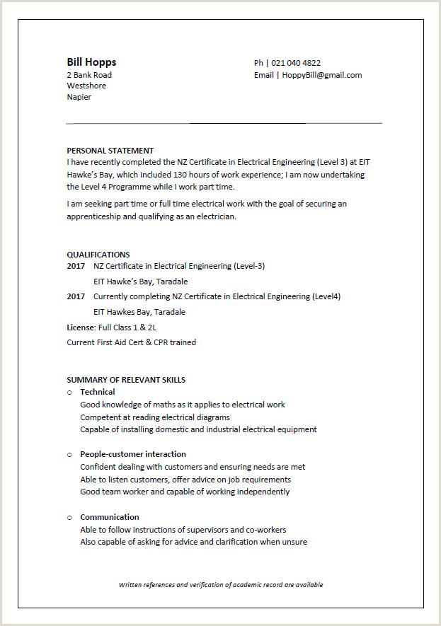 Standard Cv format for Bank Job Cv formats and Examples