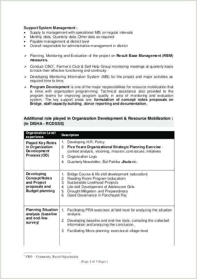 Standard Cv format for Bank Job Resume for Banks Job Sample Property Manager Job Description