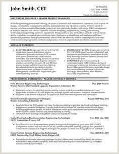Standard Cv format for Civil Engineers 10 Best Electrical Engineer Resume Templates & Samples