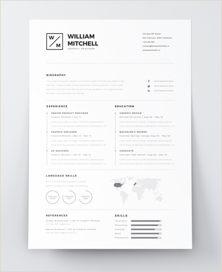 CV creative cv template free The Best Creative