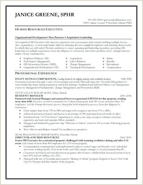 Standard Cv format for Hotel Job 78 Beautiful Gallery Resume Examples for Medical