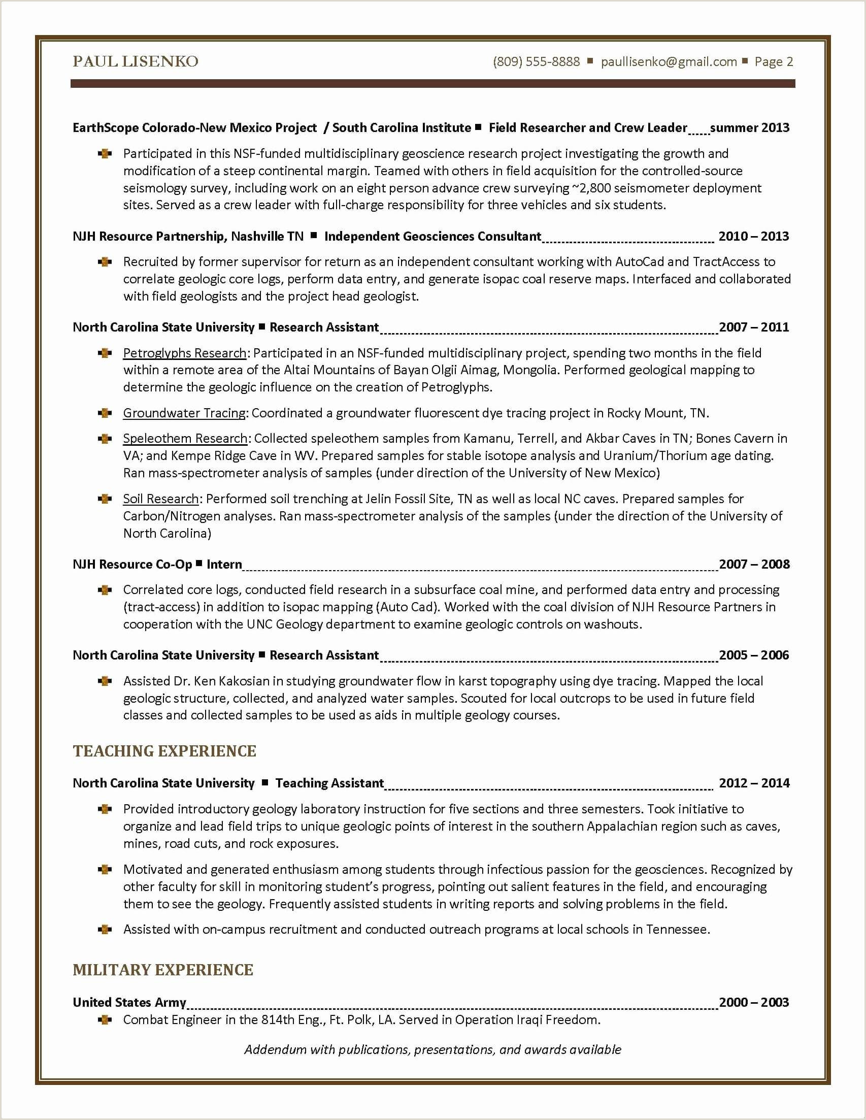 Standard Cv format for Internship Exemple De Presentation Personnel Beau College Grad Resume