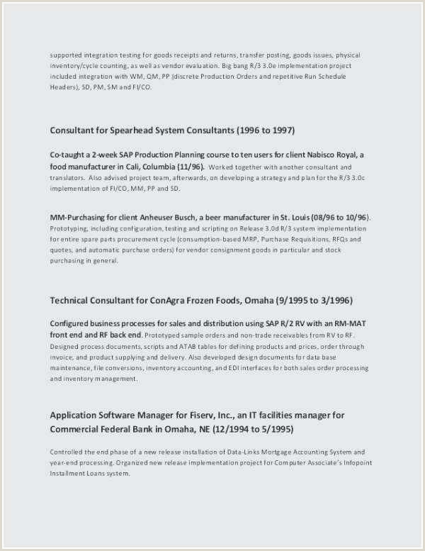 Standard Cv format for Job Application Free Collection 45 Awesome Resume Templates Picture