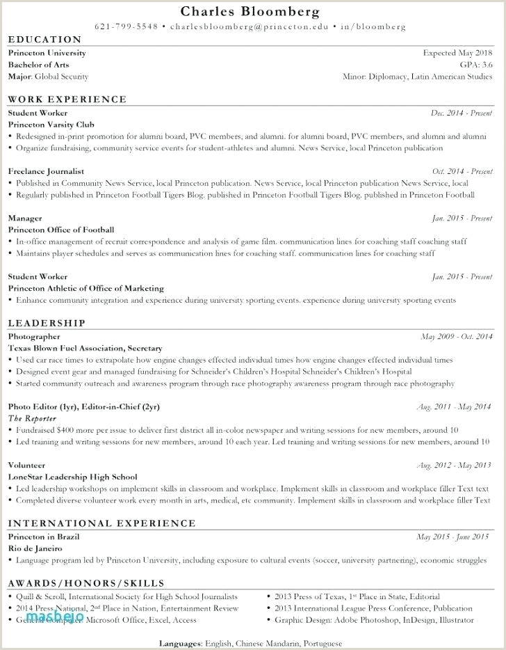 Soccer Player Cv Template Example Resume Sample Professional