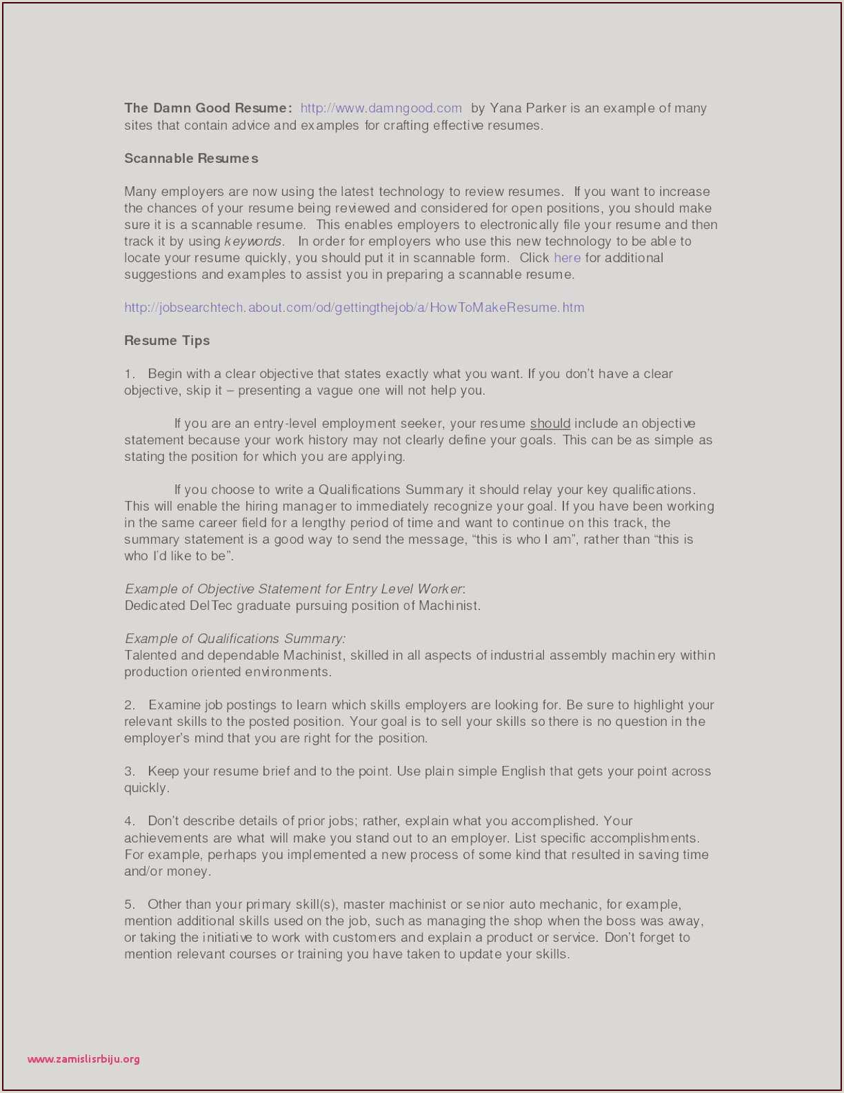 10 Mechanical Engineering Resume Objective