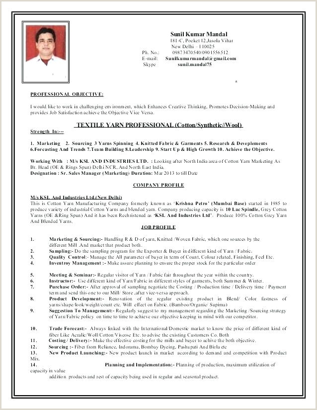 Standard Cv format for Merchandiser Job Profile Template Marketing Coordinator Description