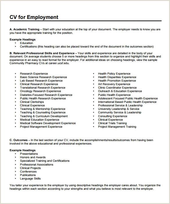 Standard Cv format for Pharmacist Cv Presentation Simple Best Interests A Resume Xenakisworld