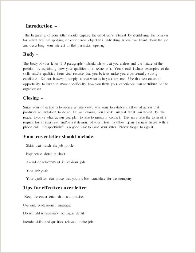 Sample A Job Application Letter Cover Letters Post
