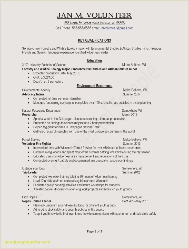 Example Resume Accounting Student New Accountant Resume New