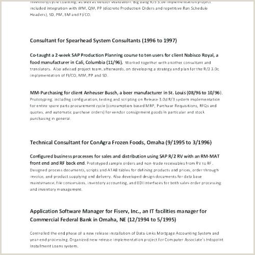 Standard Cv format for software Engineer Lovely E Page Resume software Developer Resume Design