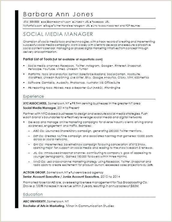 Template Media Latex Resume Software Engineer