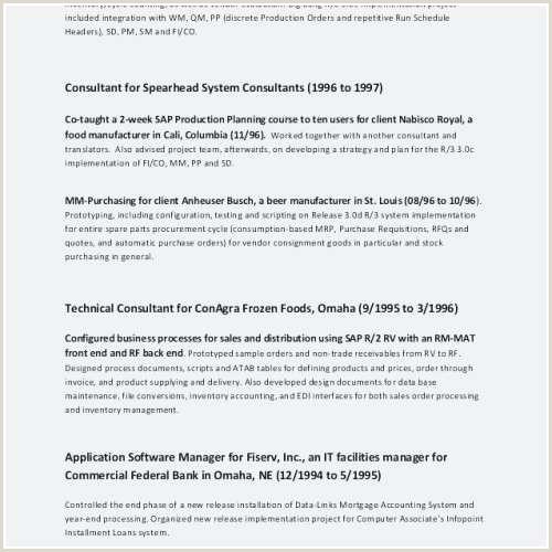 Standard Cv format In Canada Modele Cv Canada