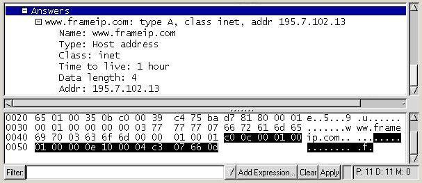 Protocole DNS FRAMEIP