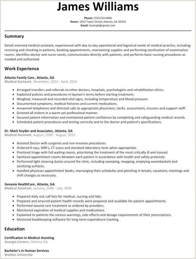 Microsoft Resume Templates Free Best Resume Templates Free