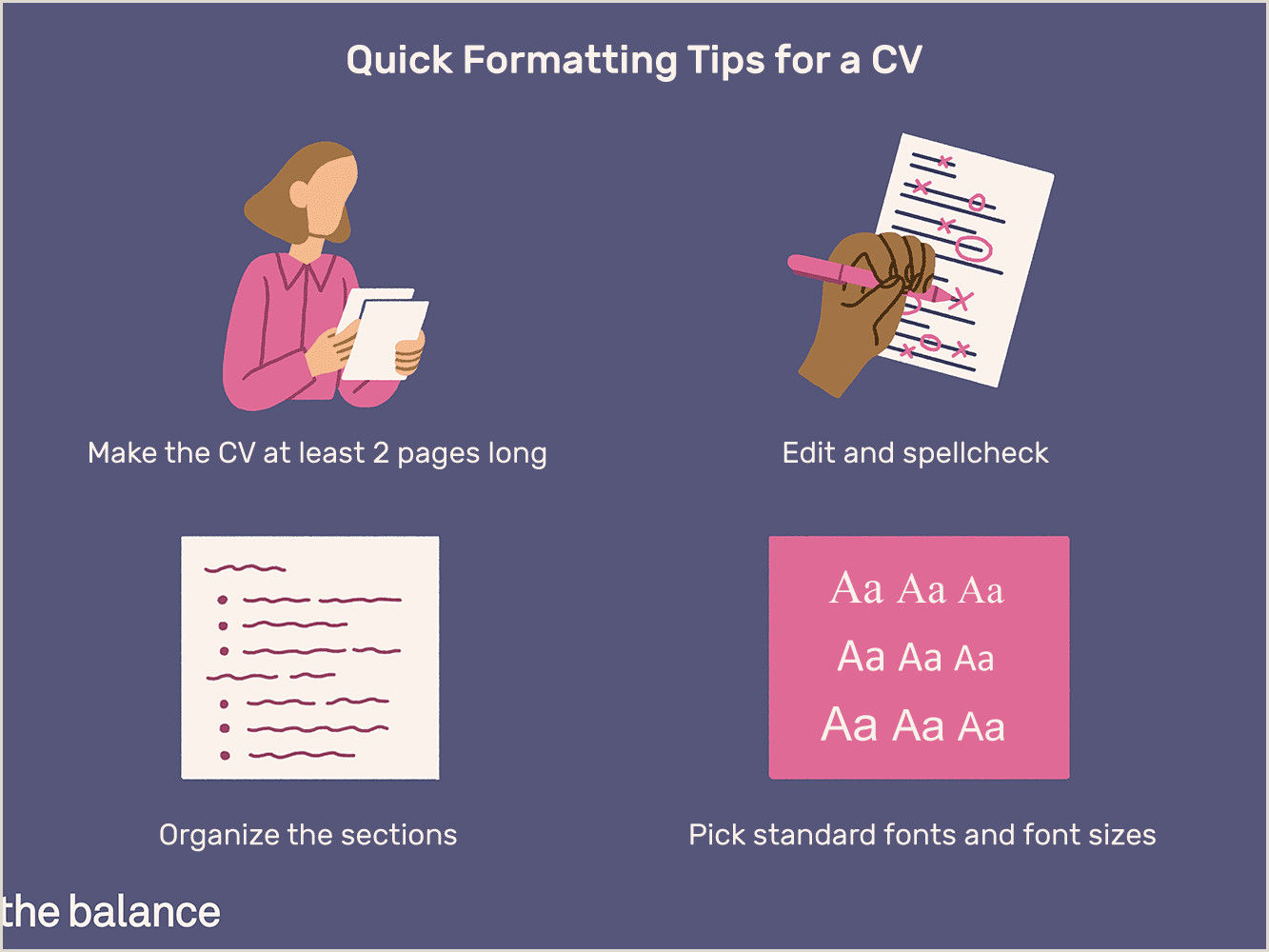 Standard Cv format In One Page formatting Tips for Your Curriculum Vitae Cv