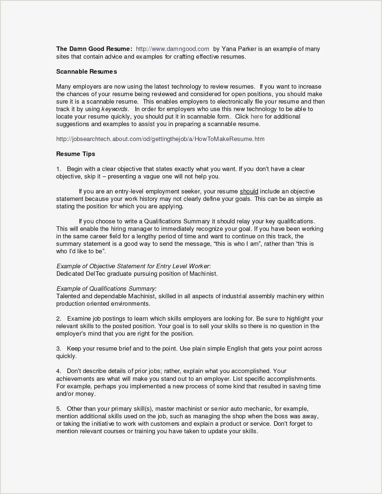 Standard Cv format In One Page Levels Fluency Resume New Undergraduate Cv Example Janice