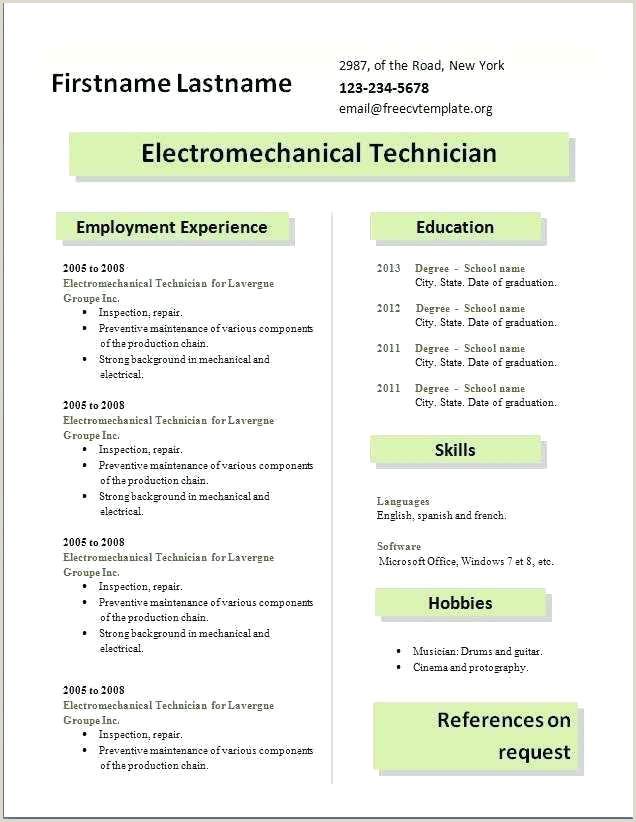 Standard Cv format In Sri Lanka Curriculum Vitae Template Pdf
