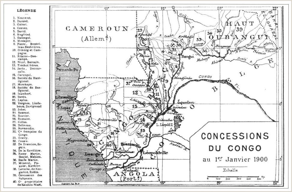 Standard Cv format Nigeria Le Havre Colonial De 1880  1960 Chapitre 5 Moments Et