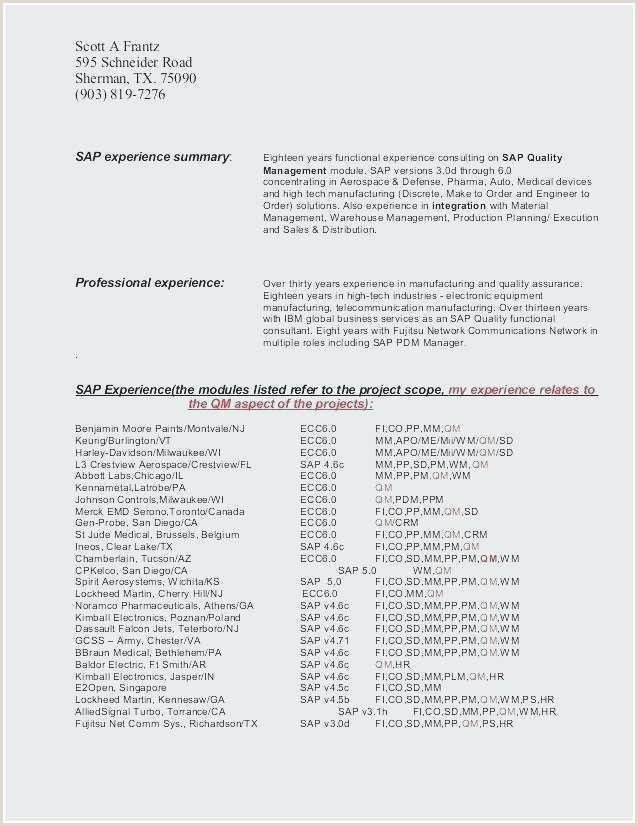 Standard Cv format Pdf 2018 New Cv Resume Sample Pdf