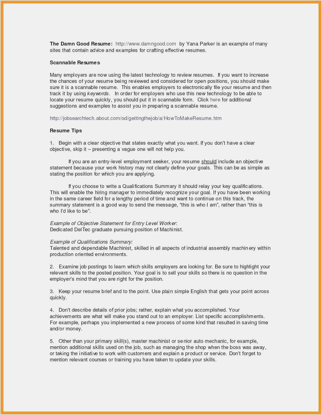 Standard Cv format Pdf Download Download 51 Simple Resume Template Word Model