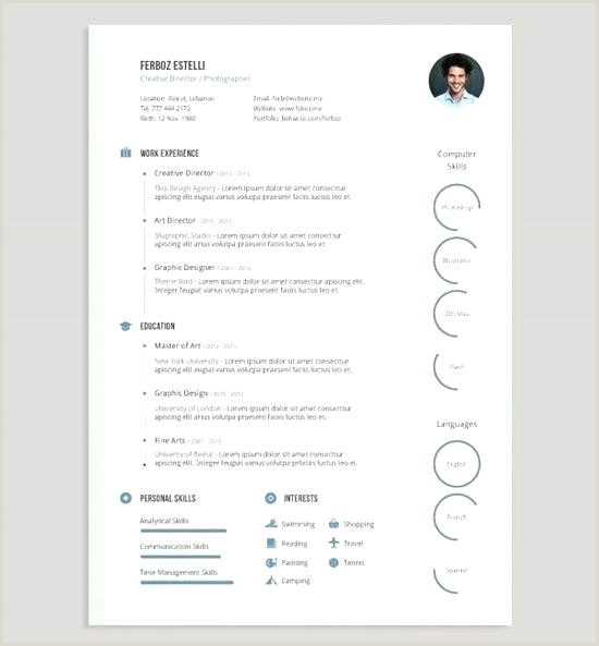 Free Template Cool Resume Templates Download Designs Simple