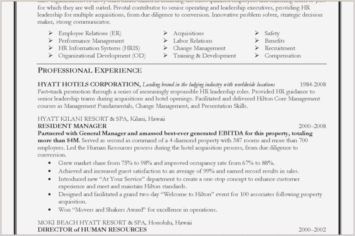 Management Resume Samples Best Cv Template Download Pdf