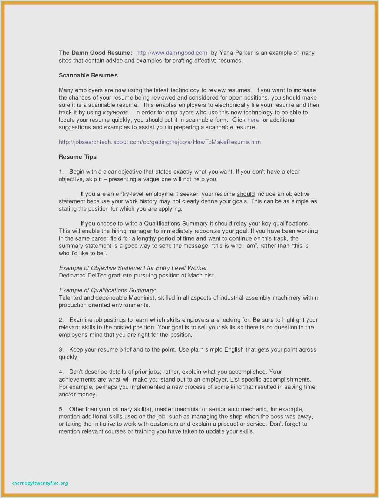 Resume for Job Application Pdf Examples 42 Letter for Job