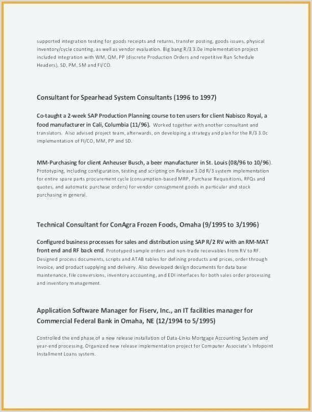 standard cv template – highendflavors