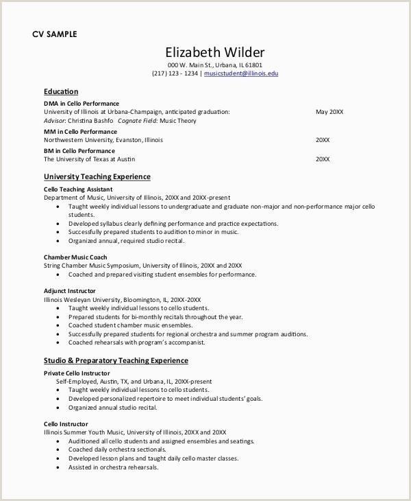 Resume Cv Example Free Cv format Example Ms format Resume
