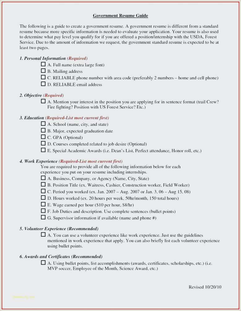 Standard Cv format Usa 40 Luxury Standard Cv format for Job Application Image