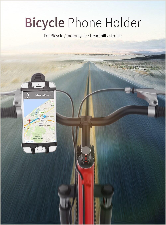 Essager support pour téléphone vélo pour iPhone Samsung universel moto Mobile support pour téléphone portable vélo guidon support support de montage