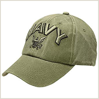 Medals of America Navy OD 3D Letter Hat OD Green e Size at