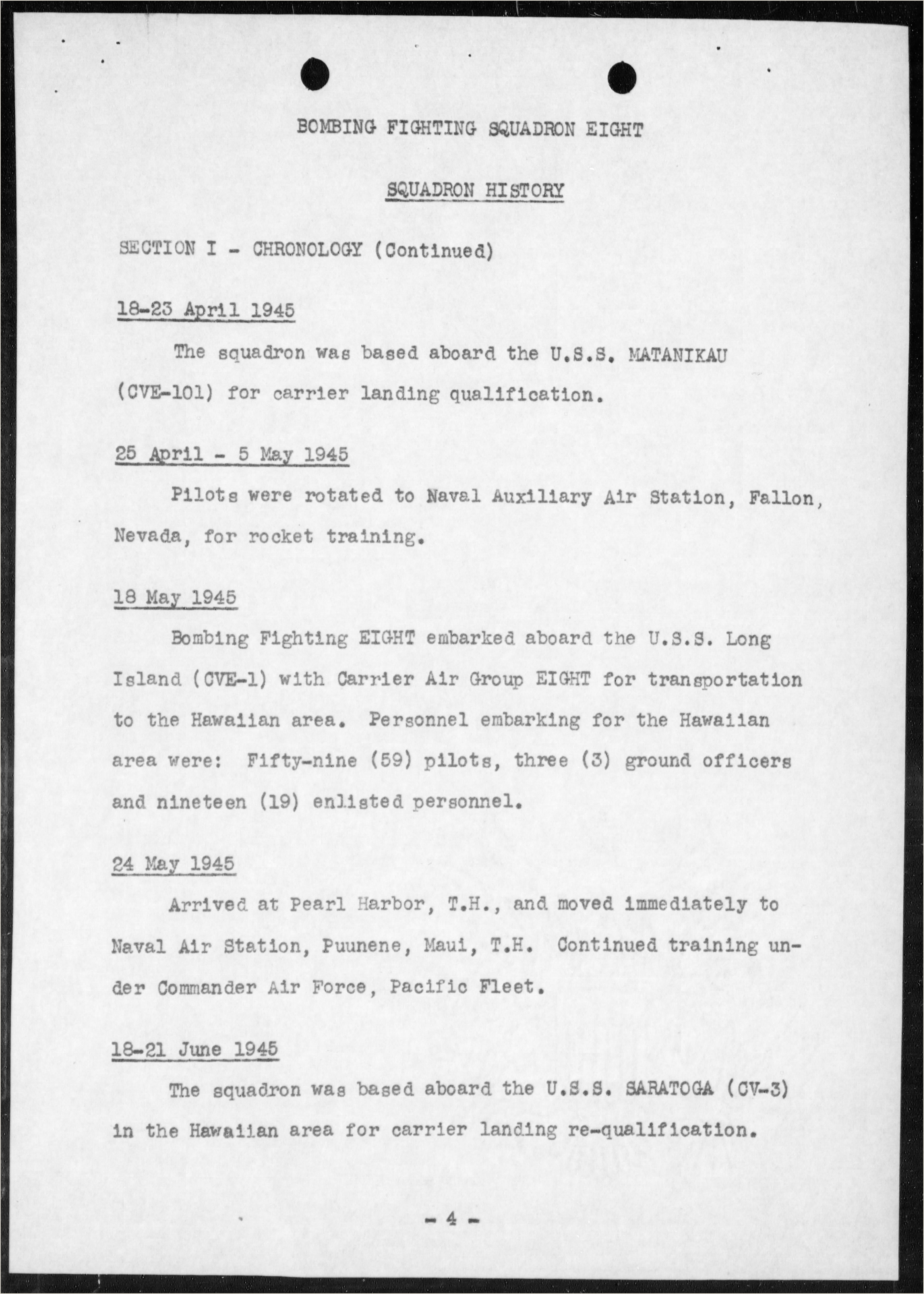 Standard Navy Letter Template asisbiz Document Usn Vbf 8 War Diary 1945 0d