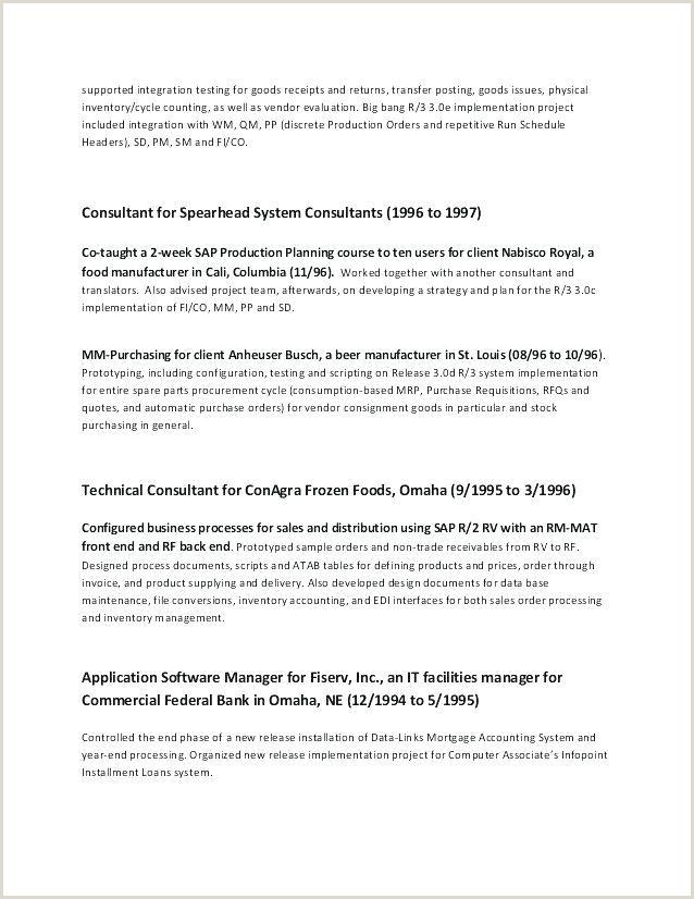 Curriculum Vitae format Pdf Download Schön Free Resume