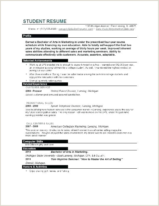Standard Resume format In Pdf Resume Template Pdf College Graduate Resume Template Acting