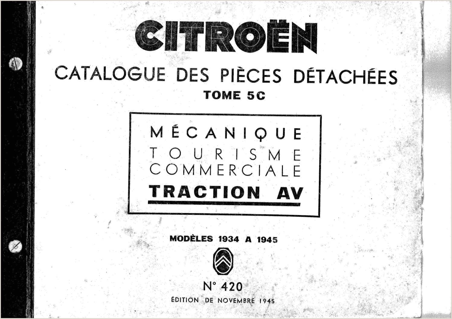 Catálogo de Pe§as Traction 1945 by CCCP Clube Citroen issuu
