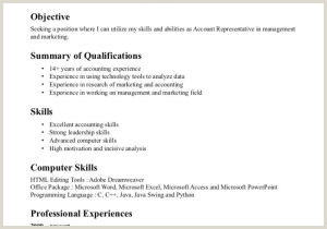 Resume Qualifications Examples Delightful 51 Time Management