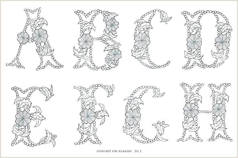block letter alphabet