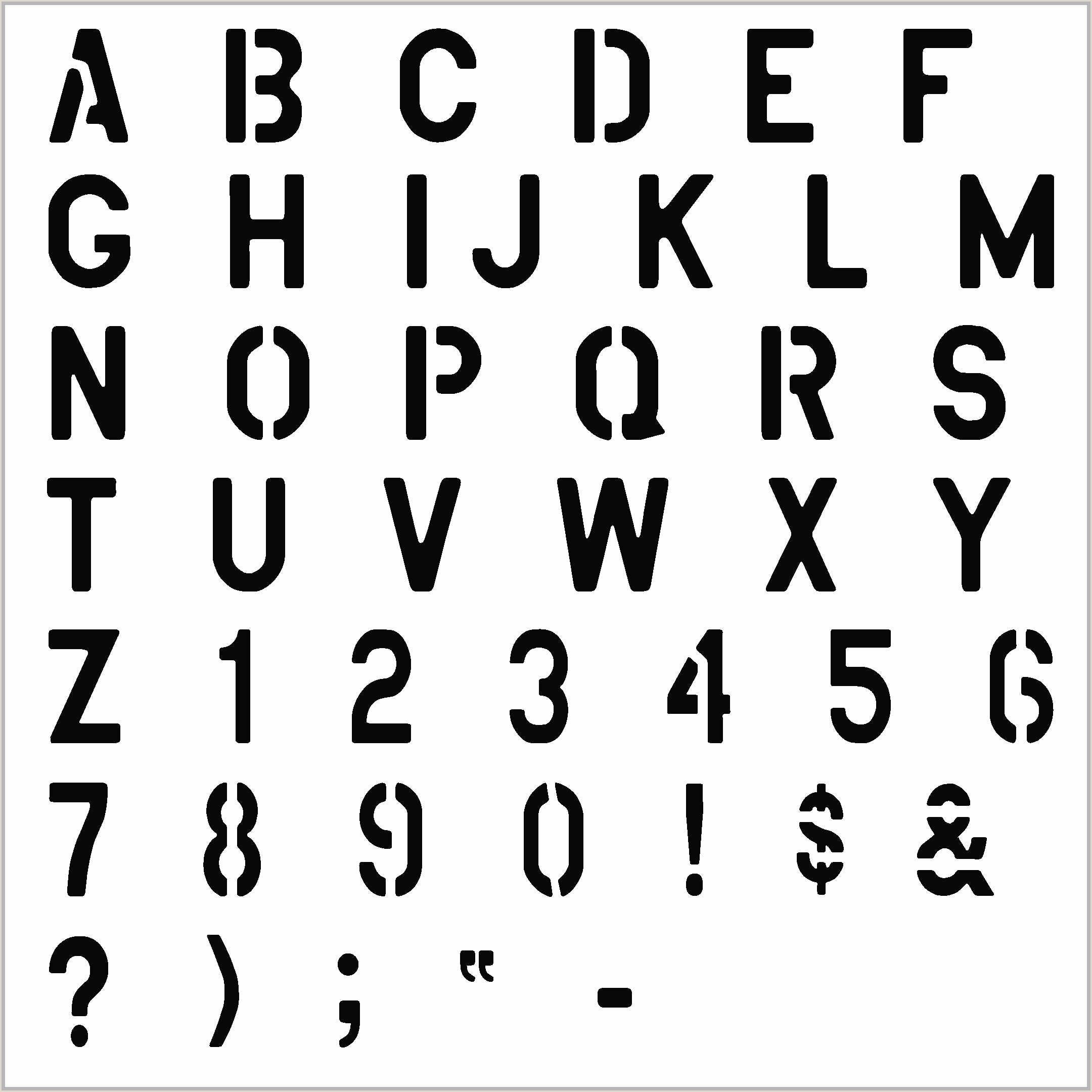 Free Printable Stencils 2012 Alphabet Letters Letter Sample