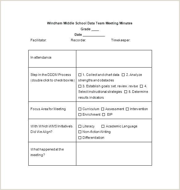 Note Taking Template Elegant 7 Procedure Templates Free