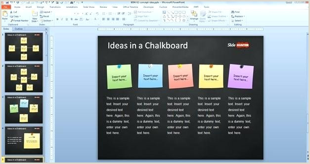 Sticky Note Template for Word Template with Sticky Notes In the Slide Design Microsoft