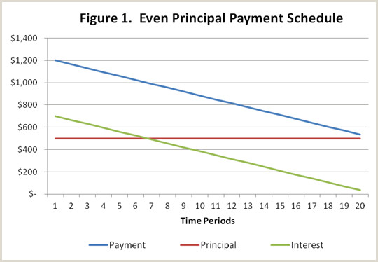 Types of Term Loan Payment Schedules