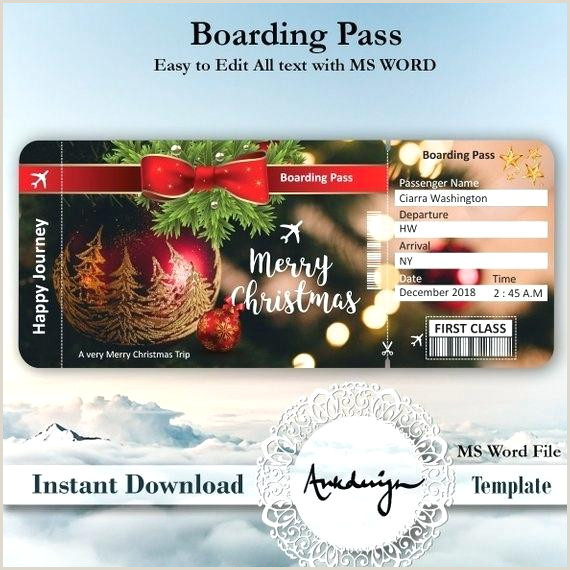 String Lights Invitation Template Christmas Ticket Template