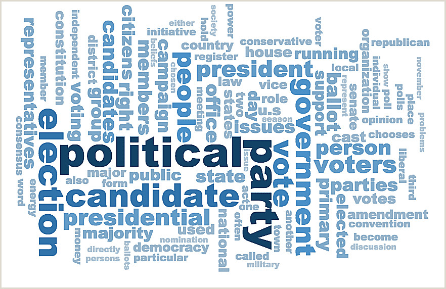 98 Election Vocabulary Terms