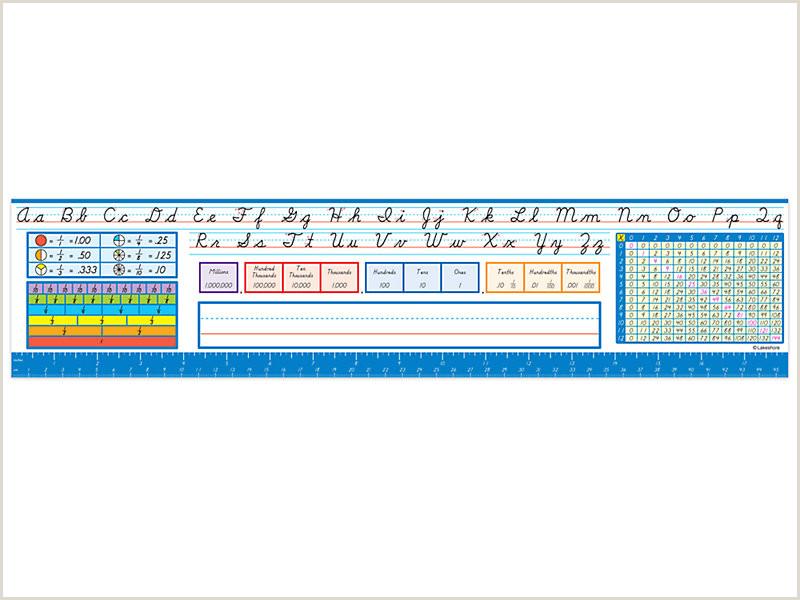 Lakeshore Modern Cursive Reference Nameplates Gr 3 5
