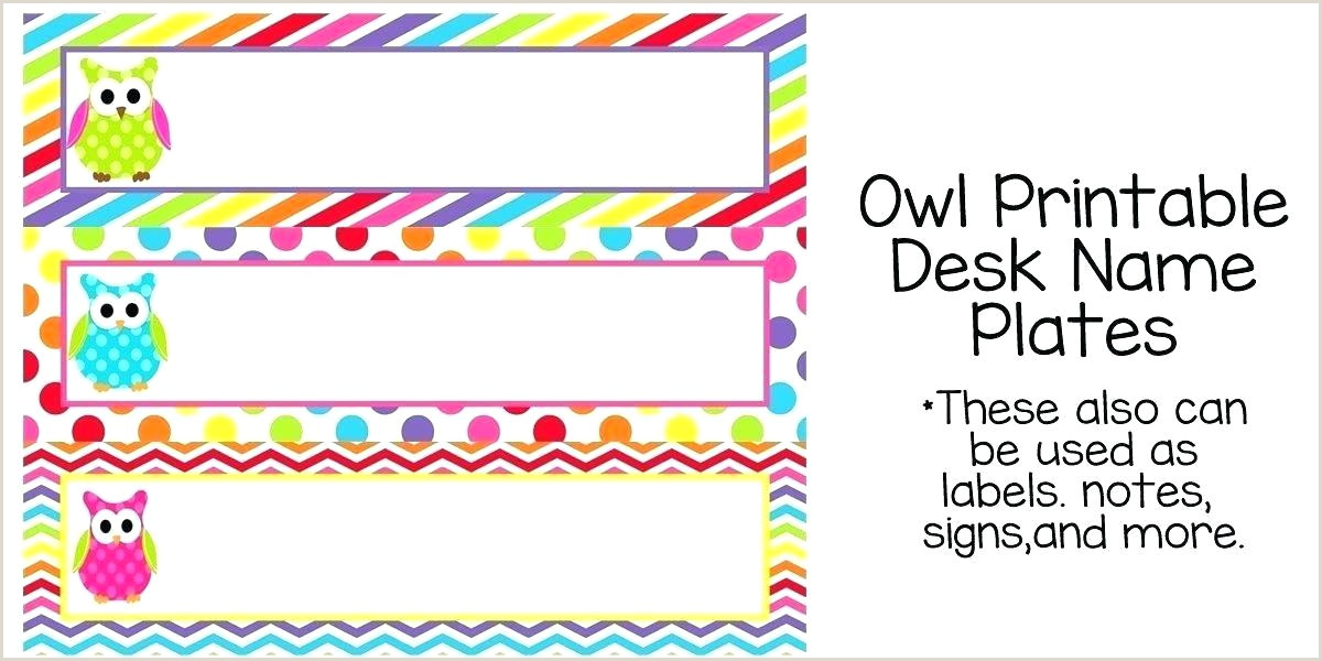 Student Desk Name Plates Templates Name Tag On Desk – Domenicanigh