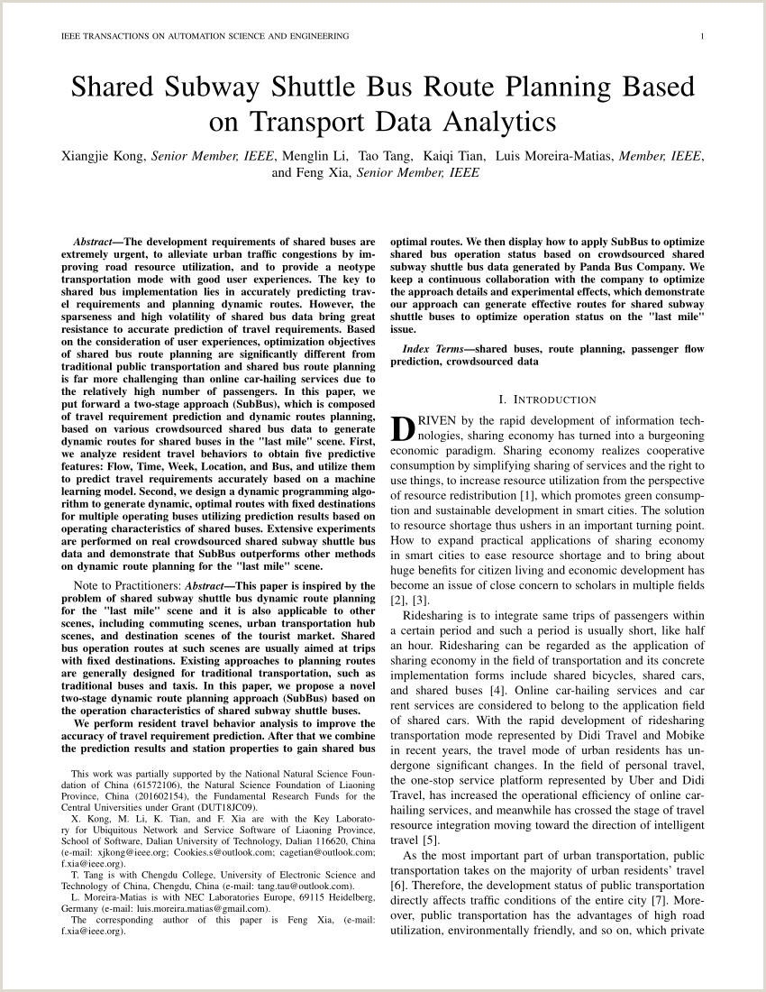 PDF d Subway Shuttle Bus Route Planning Based on
